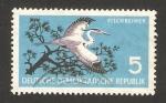 Stamps : Europe : Germany :  403 - preservacion de la naturaleza, una garza