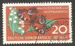 Stamps Germany -  405 - Mariposa