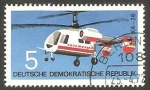 Stamps : Europe : Germany :  1436 - Helicóptero KA-26