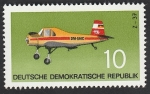 Stamps : Europe : Germany :  1437 - Avión taxi Z-37
