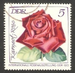 Stamps : Europe : Germany :  1450 - Exposición internacional de rosas