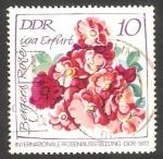 Stamps : Europe : Germany :  1451 - Exposición internacional de rosas