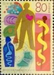 Stamps Japan -  Scott#2669 intercambio, 0,40 usd 80 y, 1999
