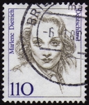 Stamps Germany -  INT-MARLENE DIETRICH