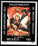 Stamps Mexico -  MIGUEL HIDALGO