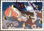 Stamps of the world : Japan :  Scott# 1177 intercambio, 0,20 usd 20 y, 1974