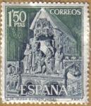 Sellos de Europa - España -  Iglesia S. Vicente en Avila