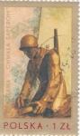 Sellos de Europa - Polonia -  soldado