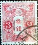 Sellos de Asia - Japón -  Scott#131 intercambio, 0,20 usd 3 s, 1914