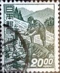 Sellos de Asia - Japón -  Scott#433 intercambio, 0,20 usd 20 y, 1949