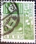 Sellos de Asia - Japón -  Scott#242 intercambio, 0,20 usd 4 s, 1937