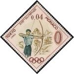 Stamps Monaco -  Tiro con arco