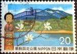 de Asia - Japón -  Scott#1116 intercambio, 0,20 usd 20 y, 1972