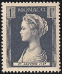 Stamps Monaco -  Princesa Grace