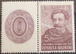 Stamps : America : Argentina :  José Manuel Estrada - 1842-1942