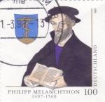 Sellos de Europa - Alemania -  Philipp Melanchthon