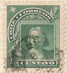 Sellos de America - Chile -  Colon peso bronce