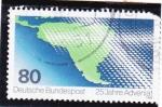 Stamps Germany -  mapa