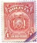 Sellos de America - Bolivia -  Escudo