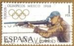 Sellos de Europa - España -  XIX JJOO. Mexico - Tiro
