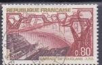 Sellos de Europa - Francia -  embalse de Vouglans Jura