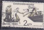 Stamps Czechoslovakia -  rescate