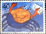 Stamps Japan -  Scott#1797 intercambio, 0,35 usd 40 y, 1988