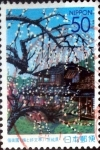 Stamps Japan -  Scott#Z458 intercambio, 0,50 usd  50 y, 2001