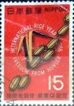 de Asia - Japón -  Scott#902 intercambio, 0,20 usd 15 y, 1966