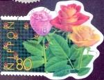 Stamps Japan -  Scott#2668b intercambio, 0,40 usd 80 y, 1999