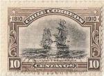 Stamps Chile -  COMBATE ENTRE LAS FRAGATAS