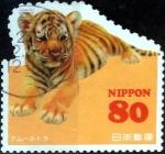 Stamps Japan -  Scott#3596a intercambio, 1,25 usd 80 y, 2013