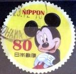 Stamps Japan -  Scott#3412a intercambio, 0,90 usd 80 y, 2012