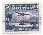 Stamps America - Bolivia -  Paisajes del Oriente Boliviano