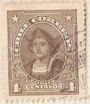 "Stamps Chile -  COLON / 1915-28""PRESIDENTES Y PERSONAJES CELEBRES"" ""CHILE CORREOS"" - SIN FILIGRANA"