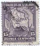 Sellos de America - Bolivia -  Diferentes motivos