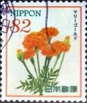 Sellos de Asia - Japón -  Scott#3827a intercambio, 1,10 usd 82 y, 2015