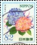 Stamps Japan -  Scott#3828c intercambio, 1,10 usd 82 y, 2015