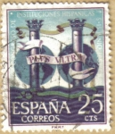 Stamps Spain -  Congreso de Instituciones Hispanicas