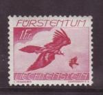 Sellos de Europa - Liechtenstein -  aves