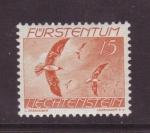 Stamps Liechtenstein -  aves