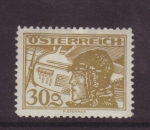 Stamps Austria -  correo aéreo