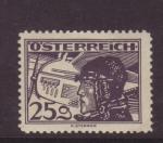 Sellos del Mundo : Europa : Austria : correo aéreo
