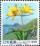 Stamps Japan -  Scott#Z546 intercambio, 0,60 usd 50 y. 2002