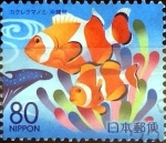 sellos de Asia - Japón -  Scott#Z803 intercambio, 1,00 usd 80 y. 2007