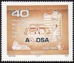 Stamps Mexico -  ALMACENES NACIONALES DE DEPOSITO
