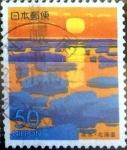 sellos de Asia - Japón -  Scott#Z266 intercambio, 0,50 usd 50 y. 1999