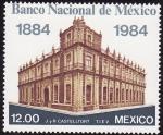 Sellos de America - México -  BANCO NACIONAL DE MÉXICO