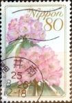 Sellos de Asia - Japón -  Scott#3102 intercambio, 0,60 usd 80 y. 2009