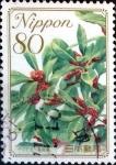 Stamps Japan -  Scott#3188 intercambio, 0,90 usd 80 y. 2009